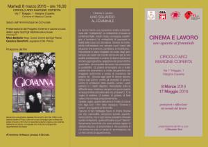 locandina cinema e lavoro